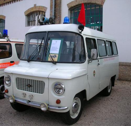 Nysa 521S ambulance