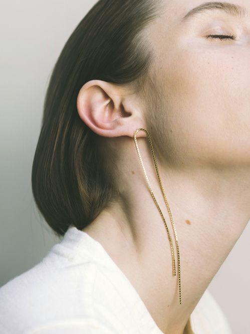 Boucle d'oreille Fringe de Saskia Diez