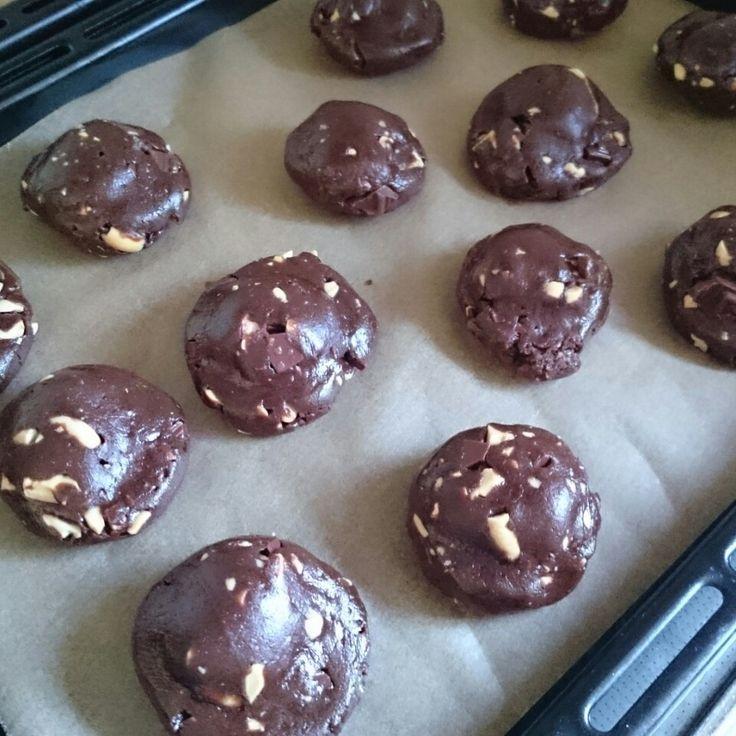 スタバ風マシュマロチョコクッキー♪ノンバターで♪ | しゃなママオフィシャルブログ「しゃなママとだんご3兄弟の甘いもの日記」Powered by Ameba