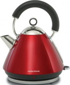 Morphy Richards 43772 Accents Red Traditional Kettle