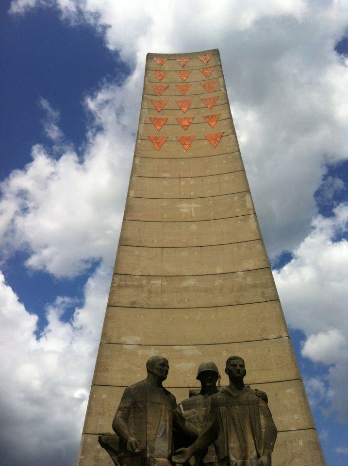 Sachsenhausen Concentation Camp Memorial and Museum in Oranienburg, Brandenburg