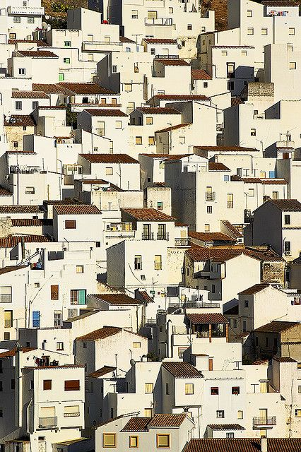 """Casares, Andalucia, Spain Casares is one of the """"Pueblos blancos"""" of Andalucia, in southern Spain. #travel"""