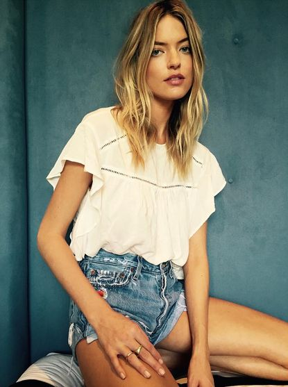 Martha Hunt in Faithfull the Brand #Faithfullthebrand #Faithfulltravels #Aboutagirl