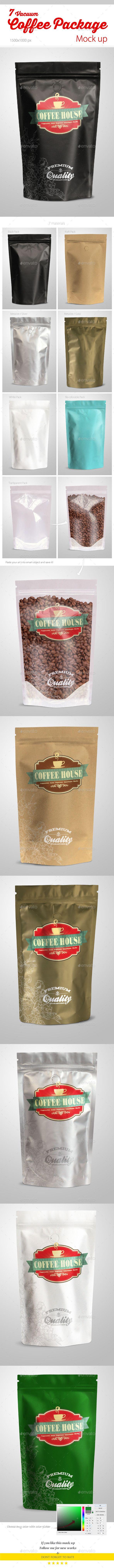 Coffee Vacuum Package Mock-up | Buy and Download: http://graphicriver.net/item/coffee-vacuum-package-mockup/9848938?ref=ksioks
