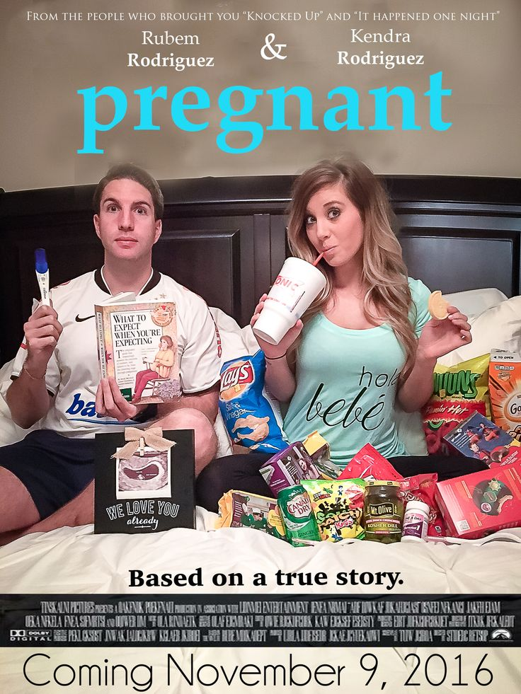 BABY, pregnancy announcement, baby announcement, food, mom, dad