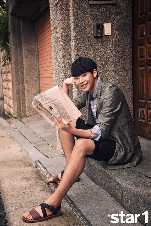 Park Min Woo - @ Star1 Magazine