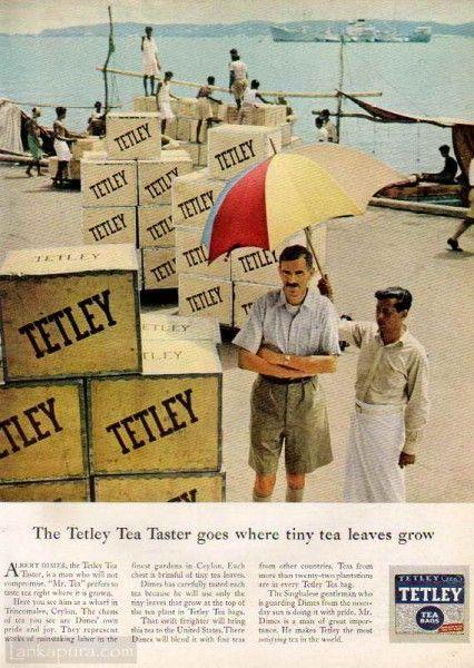 Tetley Tea Taster Trincomalee Ceylon Wharf