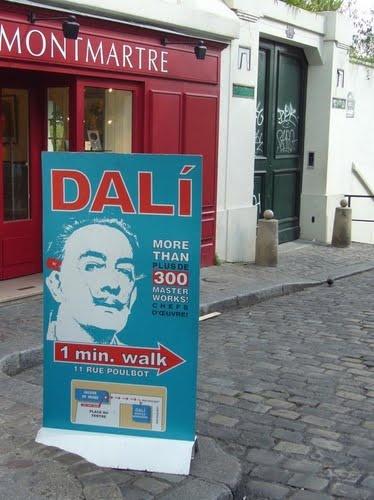Musée Dali, Montmartre. Salvador Dali Museum in Paris!
