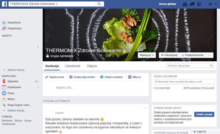 THERMOMIX Zdrowe Gotowanie ;) (Facebook, grupa zamknięta)