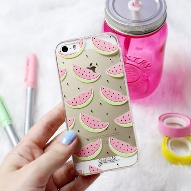 Double tap if watermelons are your favourite fruit[phone cases available for…