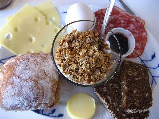 50самых вкусных завтраков мира.Завтрак в Дании.