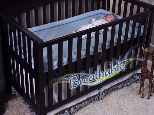 Secure Beginnings Heaven Sent Breathable Crib Mattress Base, Contemporary Curves-Natural, Standard $393.77