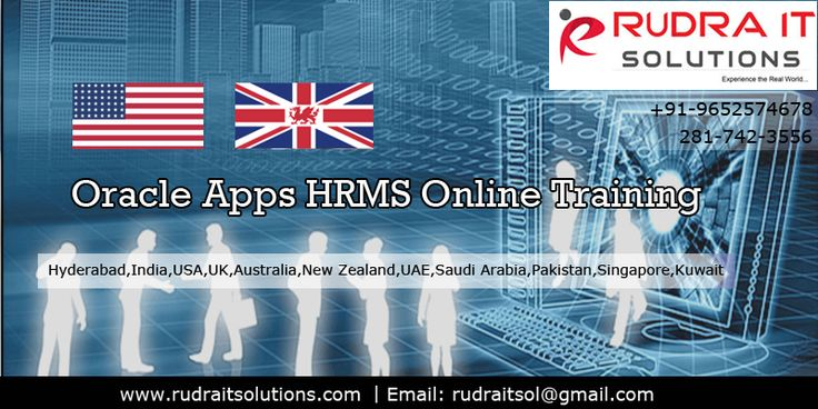 Oracle Applications HRMS online Training   Rudra IT Solutions Professional IT corporate, Oracle Apps HRMS online Training and…