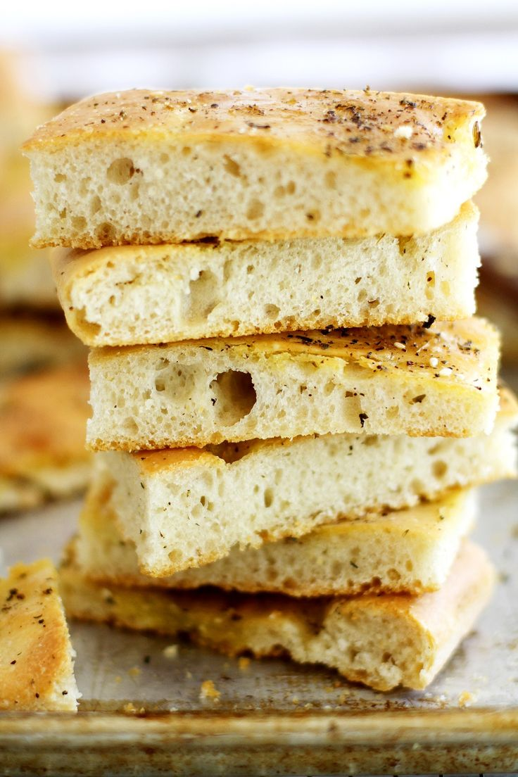 This tender, fluffy and lightly chewy focaccia topped with a sprinkling of savory za'atar spice is so delicious and so easy to make, you'll want to bake it for every occasion!