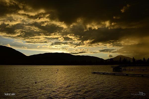 RainySunset - Skaha Lake Photograph
