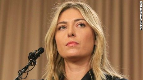 Maria Sharapova admitted to failing a drug test taken at the Australian Open in January and will be provisionally banned by tennis authorities.