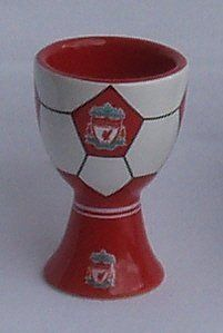 Liverpool F.C. Egg Cup by Liverpool F.C.. $14.98. Giftboxed. Official Liverpool Fc Egg Cup. Brand New In Packaging,Official Crested Ceramic Egg Cup.