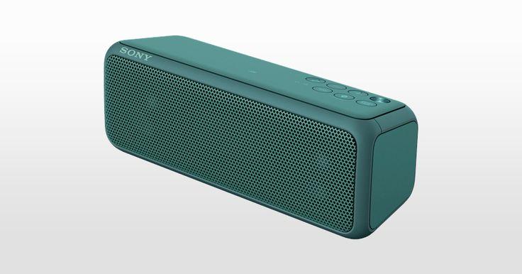 EXTRA BASS stylowy, wodoodporny, przenośny głośnik bezprzewodowy (SRS-XB2/SRS-XB3)