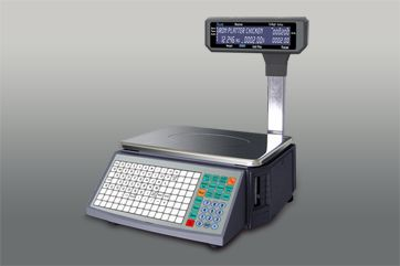 LS2XR series of barcode label electronic scale is suitable for large-medium sized supermarkets, chain stores, delis, greengroceries, etc. Pull-out and vertical paper load mechanism makes convenient for paper installation. Clear printing effect, user friendly and solid base design ensures the stability of weighing, together with functions of powerful network, nutrition labeling, tracking infomation, LS2X can meet all different demands
