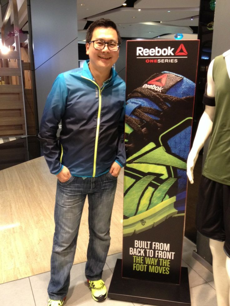 Michael Tjandra with Reebok One Series