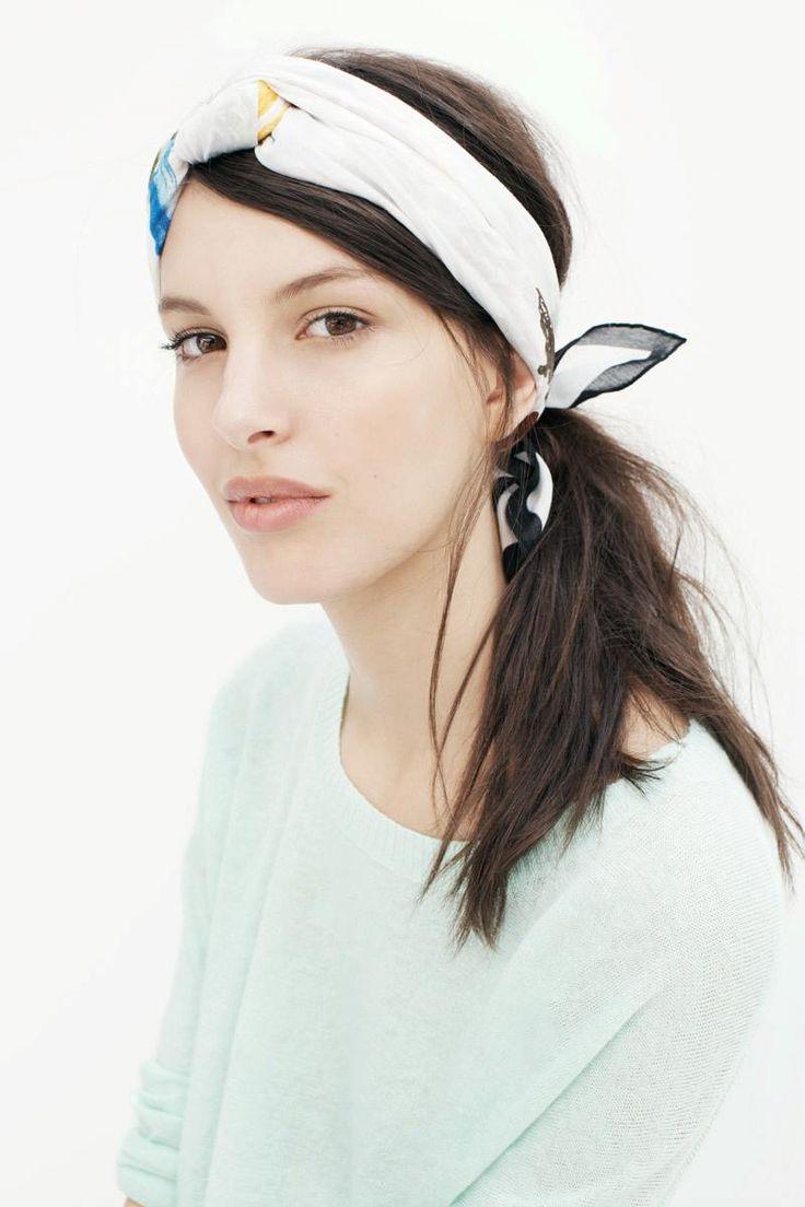 17 best ideas about headband scarf on hippie