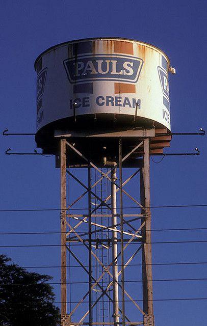 1985– Pauls Icecream Water Tank, Bell Street Preston Melbourne Victoria Australia
