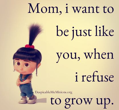 5 Funny Mother Daughter Quotes - Page 2 of 5 - Minion ...