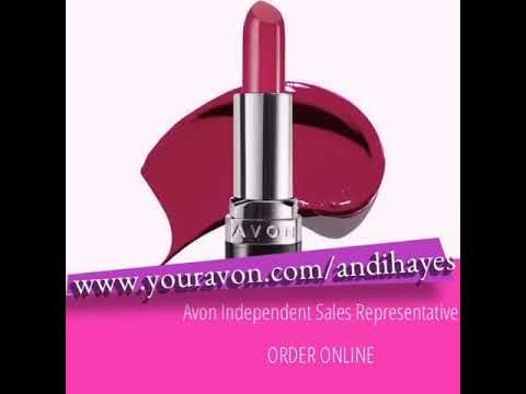 Andi Hayes : Avon Independent Sales Representative - YouTube  Introducing our new Perfectly Matte Lipstick! A completely matte lipstick that never cakes, cracks, or compromises and comes in 12 bold, beautiful colors.