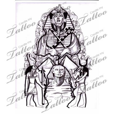 1000 ideas about egyptian tattoo sleeve on pinterest for Egyptian tattoo flash