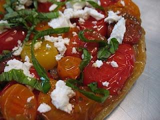 Tomato Tarte Tatin: Tarte Tatin, Tomatoes
