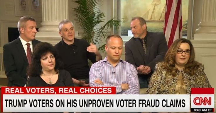 CNN Caught Editing Out Eyewitness Testimony of Election Vote Fraud