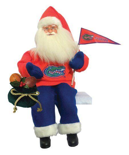 Florida Gators Musical Santa Figurine | zulily