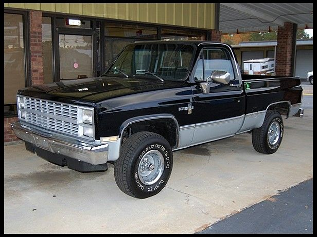 1983 Chevrolet Scottsdale Pickup K10 Sport Trucks