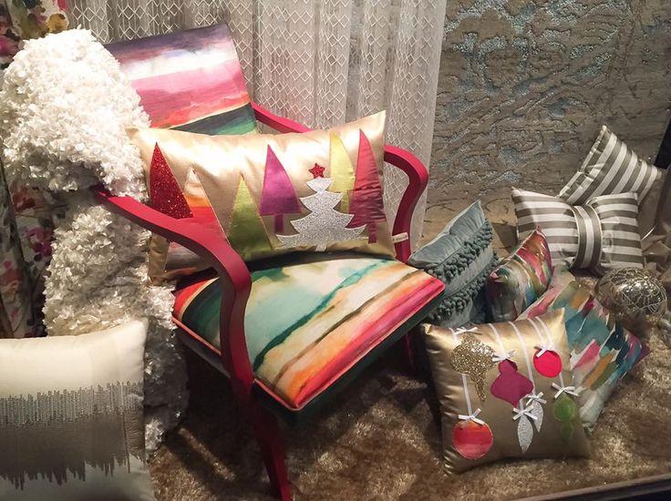 Christmas design  Handmade pillows