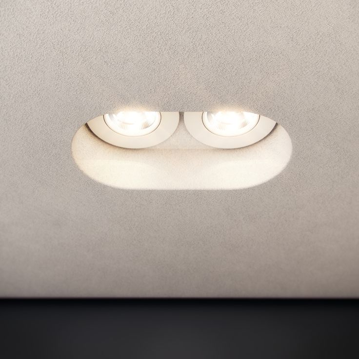 Silent Round Two LED is a plaster downlight that is designed to be completely trimless once installed into a plaster ceiling. Please note, stopping up over cut out gap and painting is required | http://www.darkon.com.au/product/silent-round-two-led/
