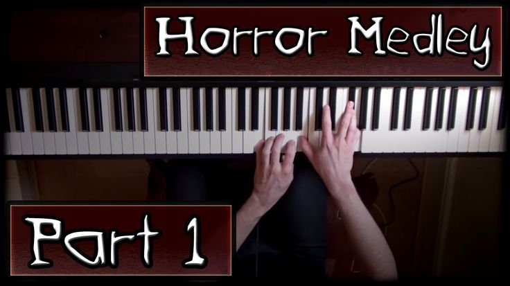 Halloween Countdown - Horror Themes Medley on Piano - Part 1/3