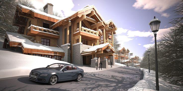 Проект шале во Владикавказе