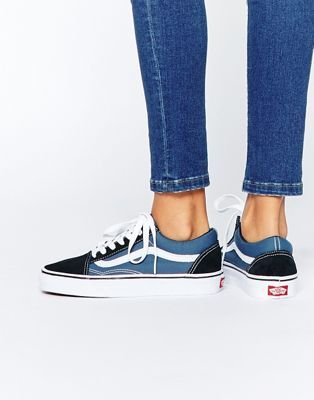 Vans Classic Old Skool Sneakers In Blue