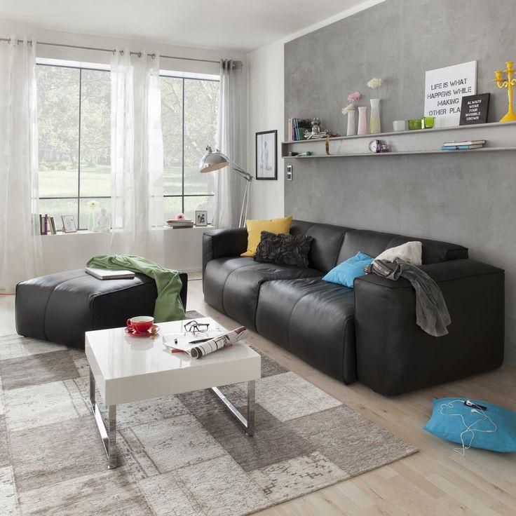 die besten 17 ideen zu ledersofa g nstig auf pinterest. Black Bedroom Furniture Sets. Home Design Ideas