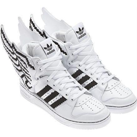 Adidas Wings 2 Pixel by Jeremy Scott : geek shoes