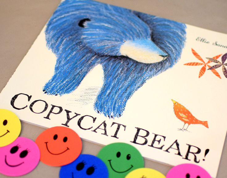 Copy Cat Bear picture book.  Part of May 17 Baby Book Club box about Friendship. 3 books a month. Lovingly hand chosen. Delivered to your door.