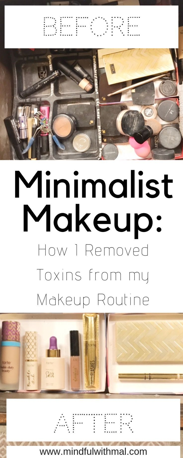 Minimalist Makeup: How I removed Toxins from my Skincare Routine. A  step-by-step guide on having less products with more quality… | Natural  Beauty Tips ...