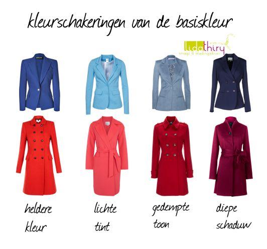 kleurschakeringen in kleding #kleurcombinaties maken