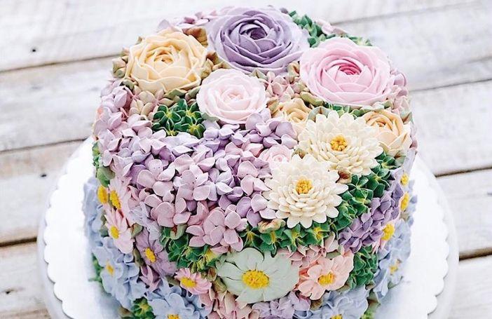 Waanzinnig mooie taarten die in het teken staan van het begin van de lente