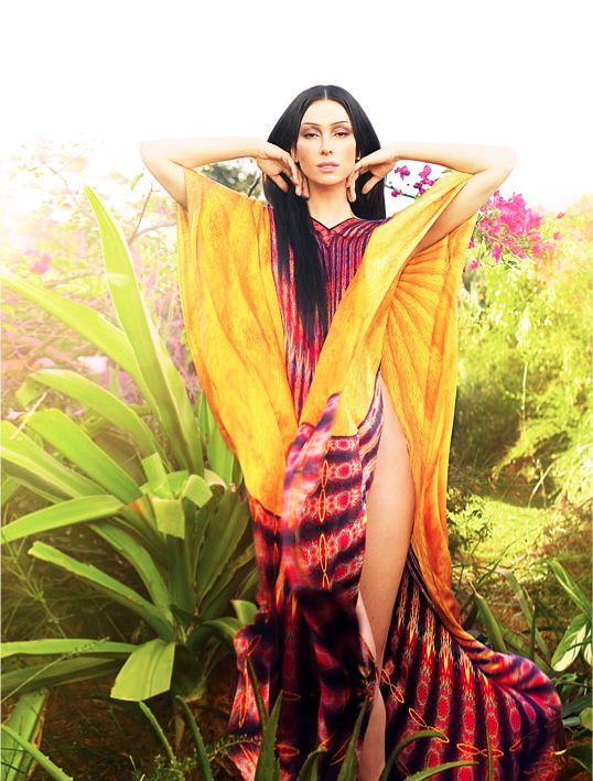Kaftan Couture designed by Colin Heany
