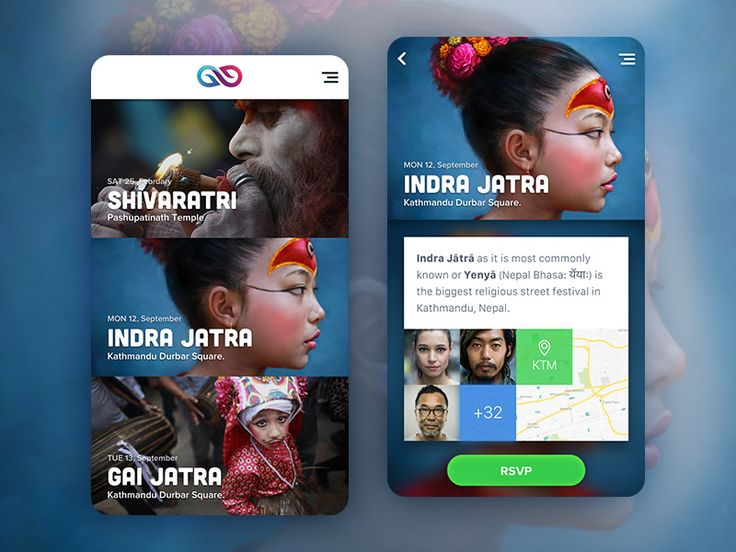 Event App Concept by Subash Dharel