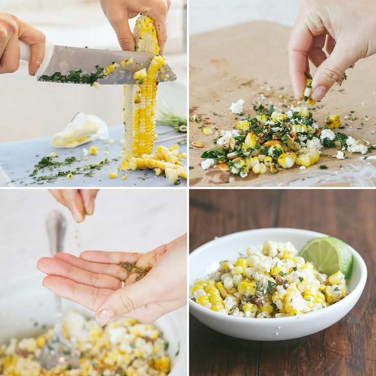 Mix grilled corn with crema, cotija, pepitas and cumin to make this ...