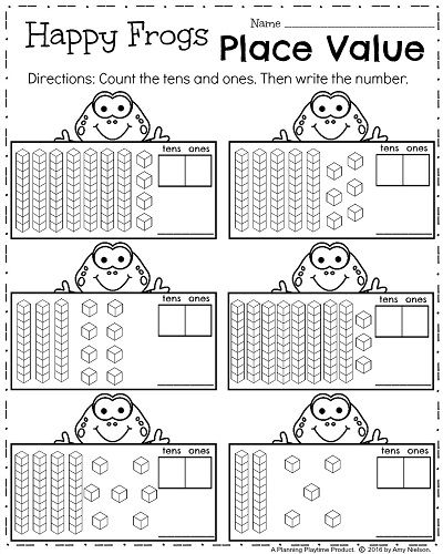 first grade worksheets for spring teaching math first grade worksheets first grade math. Black Bedroom Furniture Sets. Home Design Ideas