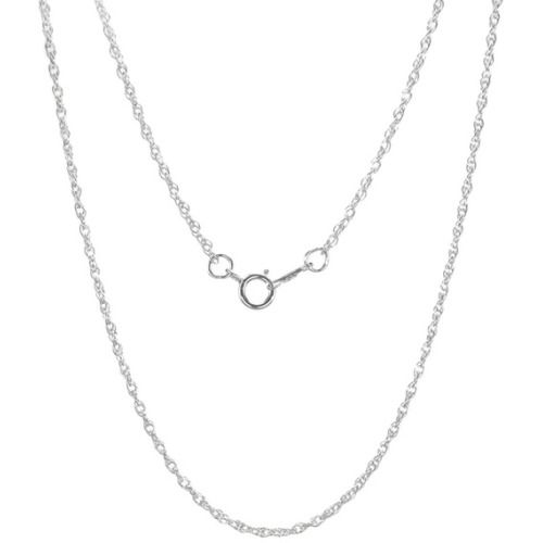 This beautiful necklace is handcrafted in Michigan with quality sterling silver. This necklace features a classic twisted rope chain, finished with a high gloss finish and secured with a spring ring clasp. Brand: Jewelry by Dawn State: Michigan Type: Chain necklace Color: Silver Metal: .925 Sterling silver Finish: High gloss Clasp: Spring ring Necklace dimensions: 1.3 mm wide x 18 inches long Jewelry Type: Fashion Chain Style: Rope Necklace Type: Chain, Fashion Material: Metal States…