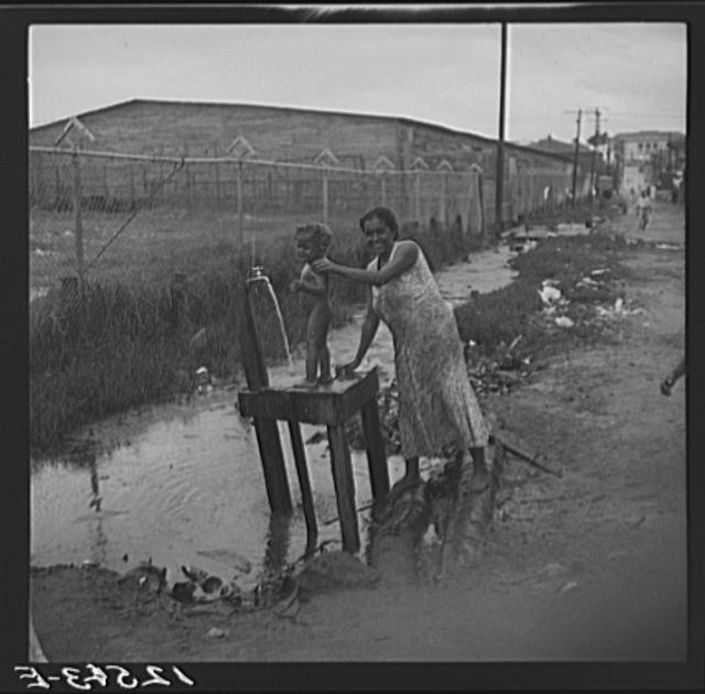 Title: Water supply, Puerto de Tierra. San Juan, Puerto Rico  Creator(s): Rosskam, Edwin, 1903-, photographer  Date Created/Published: 1938 Jan.
